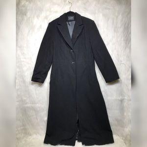 Extra long trench coat
